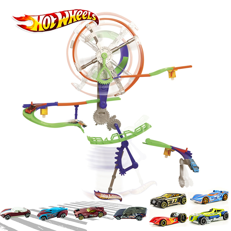 Steady Hot Wheels Car Toys Motive High Speed Track Suit Hot Sports Car Toy X9309 Boy Birthday Christmas Gift Popular Toys Toys & Hobbies