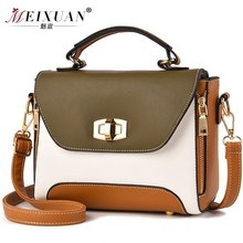 DUBKART2019 womens PU leather Messenger bag ladies retro shoulder multi-color optional