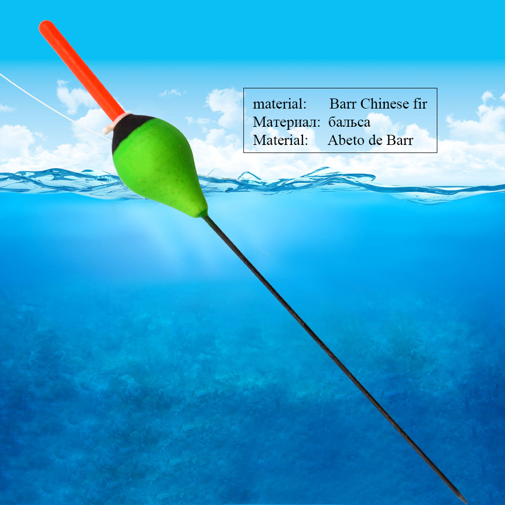 FISH KING 3PCS/Lot 4g 18cm Fishing Buoy Bobbers Fish Floats Pesca