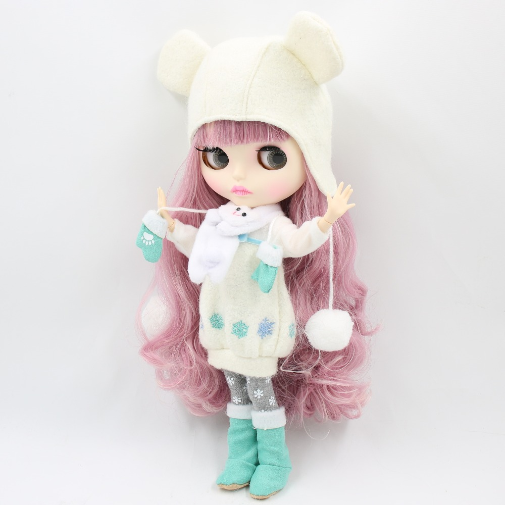 Image 4 - factory 1/6 blyth doll toy bjd joint body mix pink Hair white skin joint body gift 1/6 30cm 280BL1063/2352, naked dollDolls   -