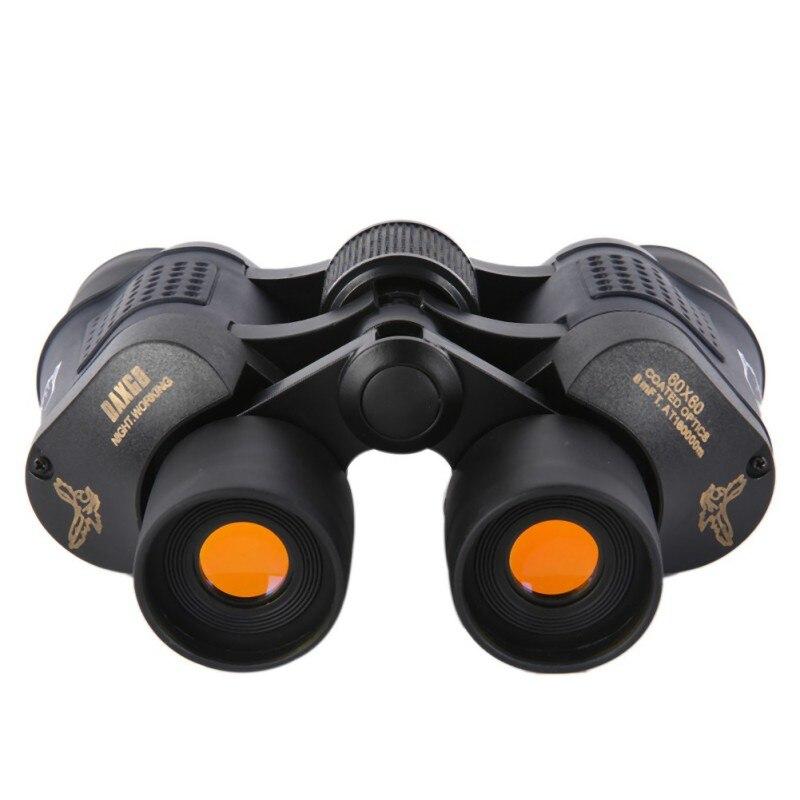 Outdoor Telescope 60x60 Coated Optics Day/ night Vision Working Hunting Military High-Powered Binoculars Anti-fog HD