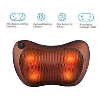 Health Care Car Home Electric Kneading Massage Pillow Cervical Shoulder Back Cervical Lumbar Neck Massager Body