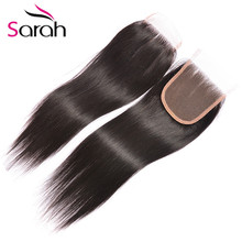 Best 4×4 Brazilian Body Wave Lace Closure Natural Color Virgin Human Lace Closure High Quality Free/Middle/3 Ways Part Closure