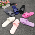 Bathroom EVA slippers new anti slip soft bottom men's home indoor bathroom slippers couple home cool slippers
