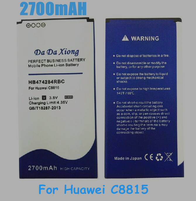 US $8 62 12% OFF|HB474284RBC Battery for Huawei C8816 C8816D C8817L G615  G620 Replacement batteries-in Mobile Phone Batteries from Cellphones &