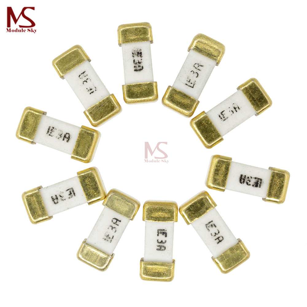 100Pcs Littelfuse Fast Acting SMD Fuse 1808 7A 125V
