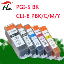 5pcs Compatible Ink Cartridges PGI-5 CLI-8 PGI5 CLI8 for Canon PIXMA iP4200 iP4300 iP4500 MP500 iP5200 MP530 MP600 MP610 MP800 aomya full refillable ink cartridge pgi5 pgi 5 cli 8 for canon pixma ip4200 ip4300 ip4500 ip5200 mp500 mp530 mp600 mp610 mp800
