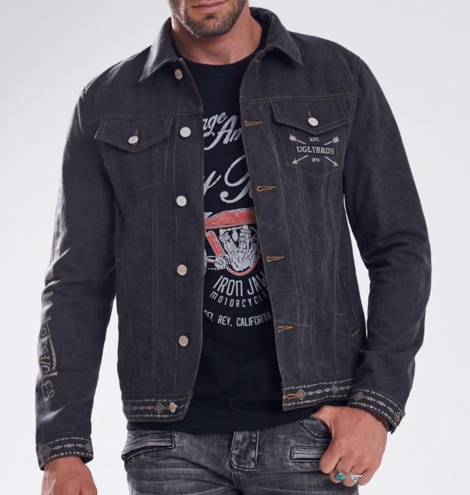 купить New Arrival! Uglybros 115 Canvas Vintage Jacket Motorcycle Protection Jacket Men's moto jacket 2 color size: M-2XL по цене 6629.76 рублей