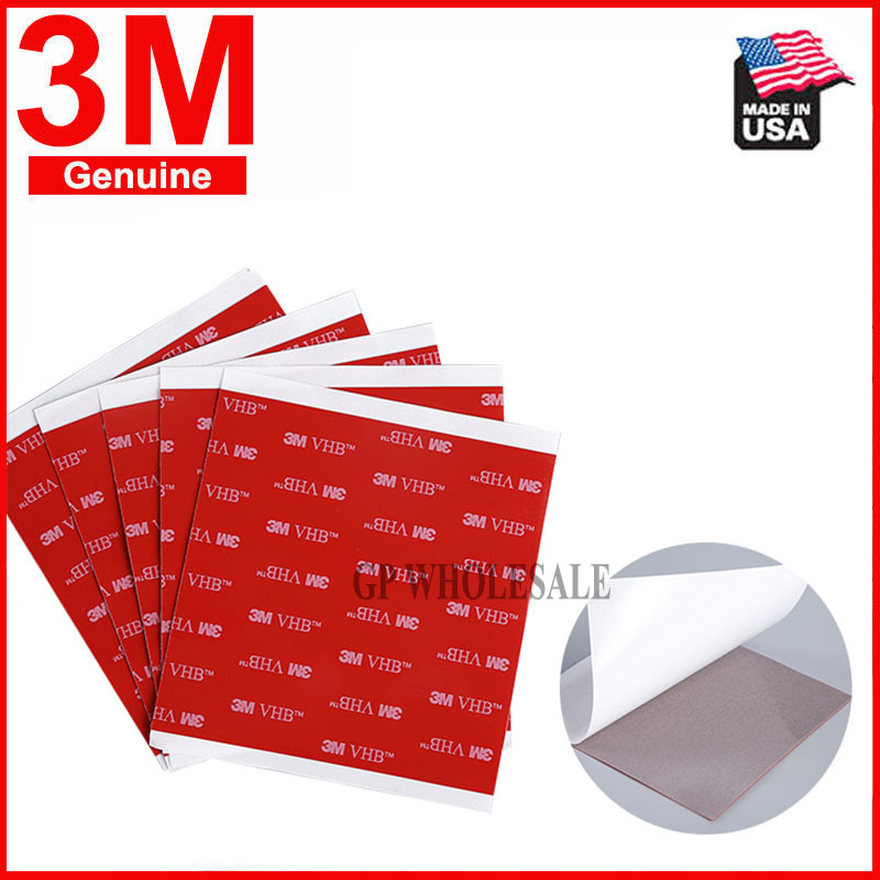 3M VHB 5608A 100mm x 80mm Acrylic Foam Double Sided Mounting Tape Extreme Strong 0.8mm thickness 10cmx8cm thumbnail