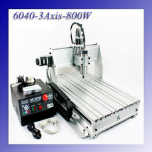 800W 3 Axis CNC Engraver Engraving Cutting Machine CNC 6040 6040z-3s