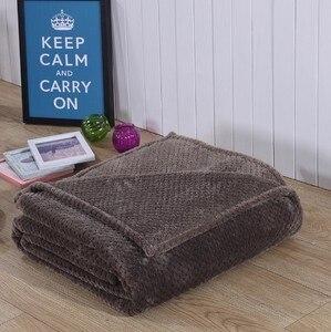 Image 4 - CAMMITEVER Korallen Fleece Decke Ananas Flanell Decken Werfen auf Bett Sofa Bettdecken Plaids Twin Königin