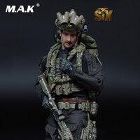 Для сбора полный набор мини раз игрушки 1/6 MT M008 ВМС США SEAL Team Six Solider яма/король ад мужской фигурку для подарка