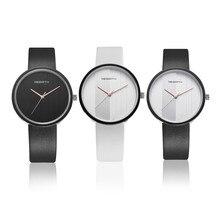 2017 New Fashion Designer Women s Watch Sport Casual Leather Ladies Wrist Watches Black White Relogio