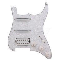 2 Single Coil Dual Rail Pickups Humbucker Pickup Electric Guitar Pickguard