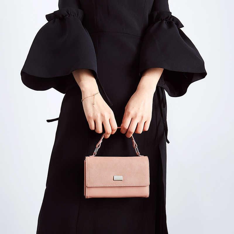 2019 Baru Multi Functiona Wanita Bahu & Tas Fashion Wanita Kecil Tote Crossbody Tas Wanita Faux Suede Sac
