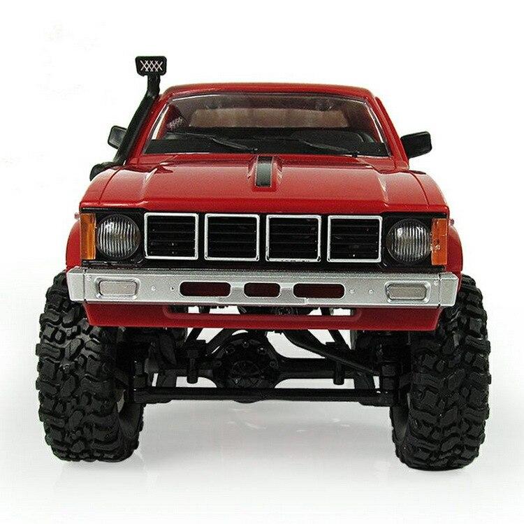 WPL RC voiture C-24 Jeep 4WD RC voiture télécommande jouet 1:16 modèle voiture 2.4G tout-terrain RC haute vitesse camion RTR voiture pour enfant cadeau - 3
