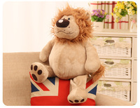 new arrival Africa lion large 50cm plush toy lovely lion soft doll throw pillow birthday gift w1723