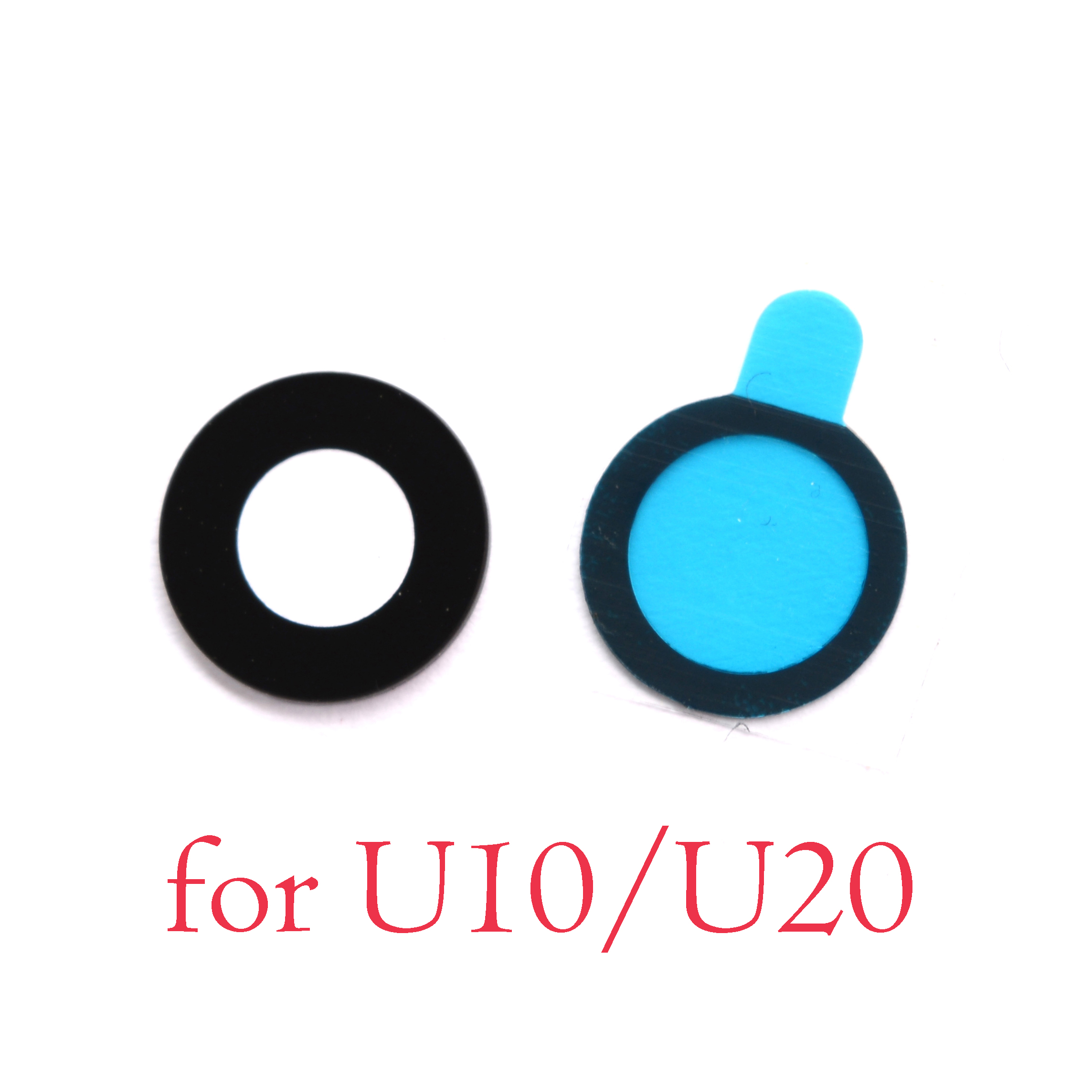 2pcs Back Rear Camera Glass Lens For MEIZU U10 U20