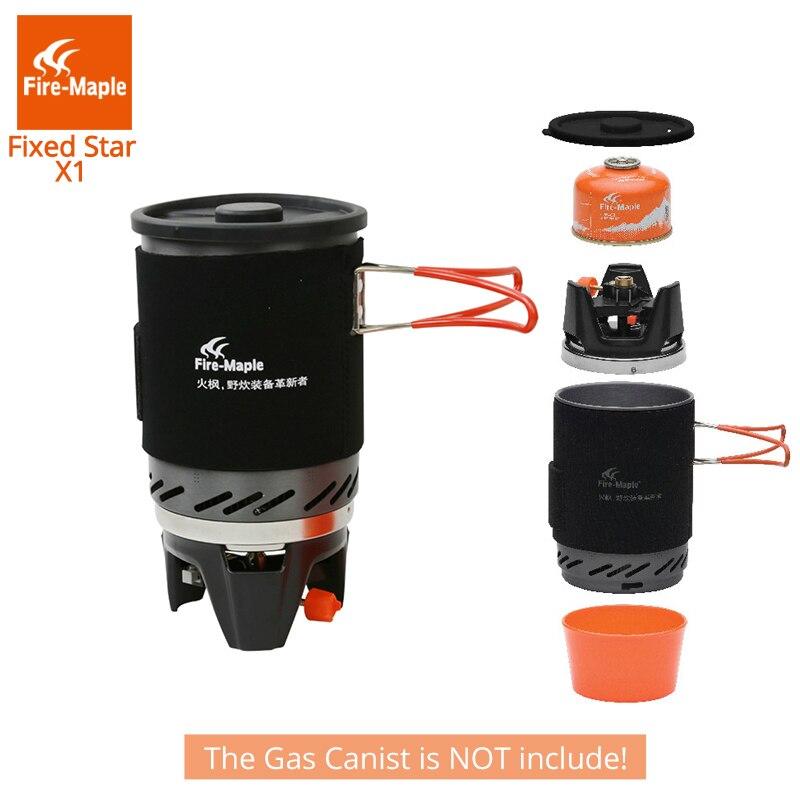 Fuego Arce Estrella Fija 1 Personal Sistema de Cocción Al Aire Libre Equipo de Camping Senderismo FMS-X1 Horno Quemador Estufa Portátil de Gas Propano - 6