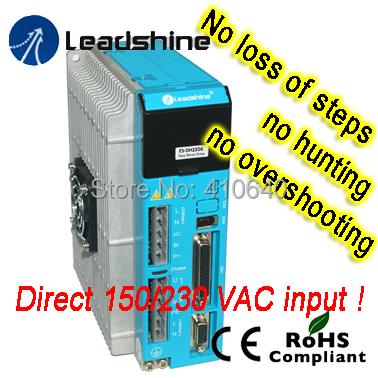 Leadshine  Easy Servo Drive Direct 220 or 230 AC Input 0.5 to 6.0A Load Based Output Current hot sale leadshine acs606 dc input brushless servo drive with 18 to 60 vdc input voltage and 6a continuous 18a current