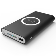 QI Wireless charger Power Bank 10000mAh Built-in Wi