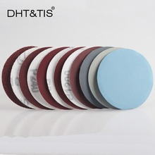 DHT&TIS 3Inch 100 pieces Sand Paper Hook & Loop Abrasive Sanding Disc for Power Tools Sander with Grit 40 ~ 7000(China)