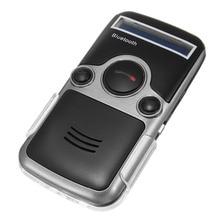 Handsfree Do Carro Kit Transmissor de FM Estéreo Muitos Idioma de Exibição LCD Speakerphone Movido A Energia Solar Sem Fio Bluetooth Bluetooth