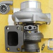 Прямая GT35 анти-всплеск турбокомпрессор турбо турбина AR. 63 T3 GT3582 GT3582R Корпус компрессора A/R.70 с прокладкой