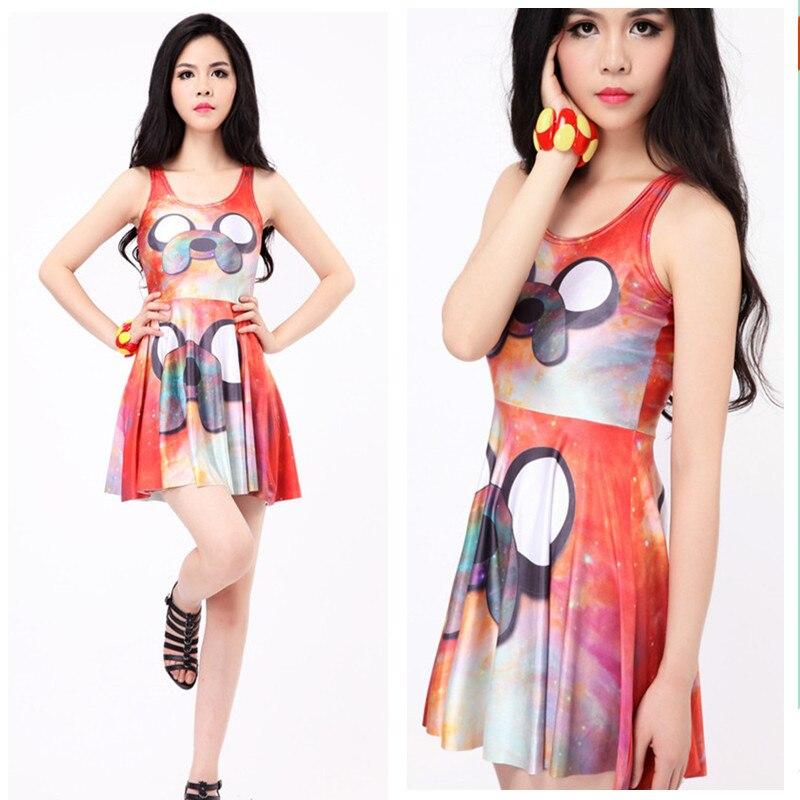 Buy Cheap 2017 Summer Dress Feminina Casual Vintage Print Tropical Fashion Women Show Thins Elastic Sexy Sleeveless Vestidos Women Dress
