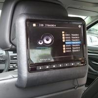 Liplasting 1pcs 9 Portable Car Headrest DVD Player HD LCD Screen Plug Headset DVD Display