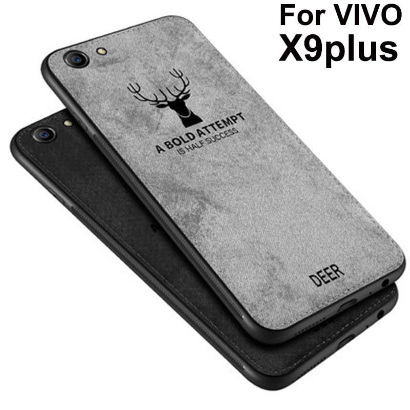 For VIVO X9 plus Case Soft phone case For vivo X9plus Cases Protection Back Cover vivoX9 plus Cloth + TPU phone case Shell coque