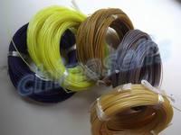 120 pçs 12m áspero 1.30mm tennis string linha de energia raquetes de tênis cordas formação linha corda