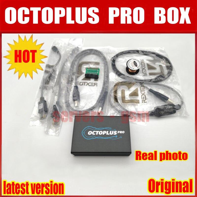 2019 Nouvelle Version D'origine Octoplus Pro Boîte + 5 ensemble de câble pour Samsung pour LG + mem/JTAG Activé