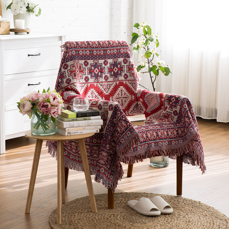 Mandala Tapestry Mat Carpet for Wall Hanging Sofa Chair Bohemia Style Wall Dorm Bedspread Home Decor Classical Decoration