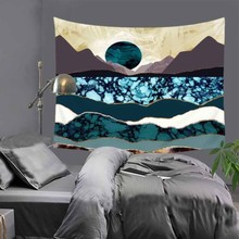 51X60 Rectangle Abstract Printed Polyester Wall Tapestry Home Decorative Wall Art Tapestry Carpet Beach Towel Tablecloth LZC4 happy easter letters printed tapestry wall art