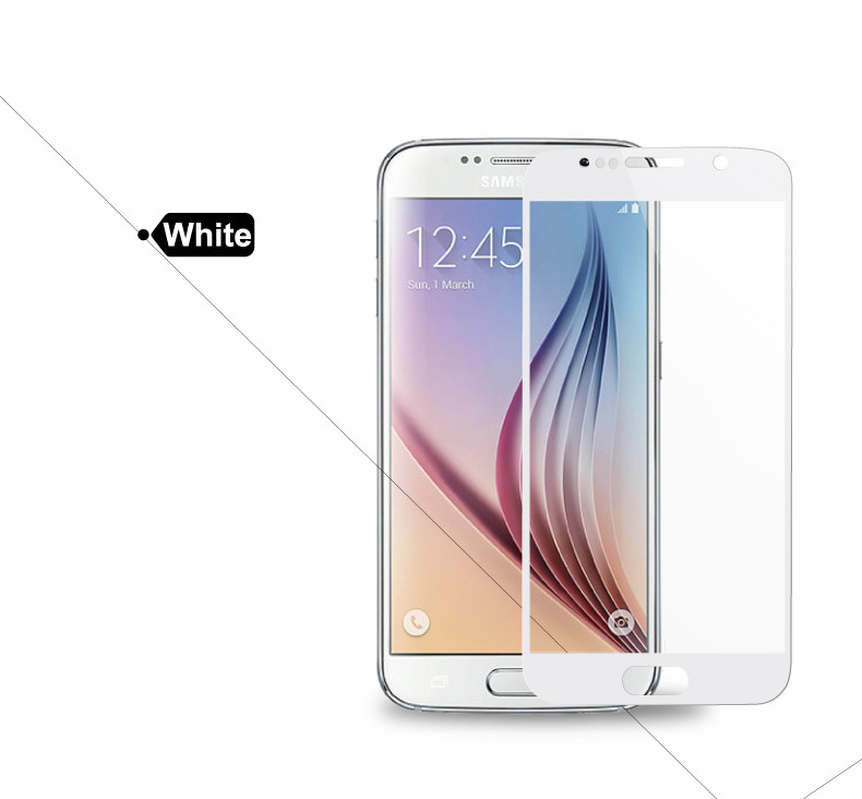 Pełna pokrywa screen protector szkło hartowane dla samsung galaxy s3 s4 s5 note 3 4 5 A3 A5 A7 2016 2017 J5 J7 Prime A8 C5 C7 Pro 16