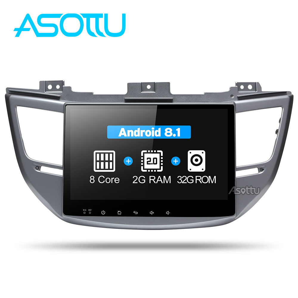 Asottu CXTS1060 android 8.1 car dvd gps player for Tucson ix35 car dvd gps navigation raido video audio player car 2 din stereo