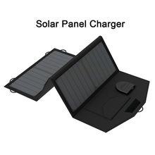 Cargador Del Teléfono Del Panel Solar portátil 12 V Coche Solar Cargador de Batería 18 V Cargador Solar Portátil Multi Funcional para el Exterior.