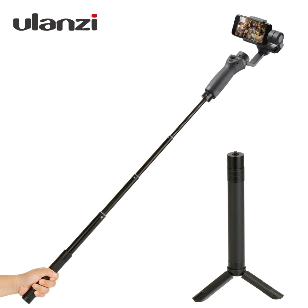 цена Smooth Handheld Extension Pole Rod Stick Tripod for Zhiyun Feiyu Dji Gimbal Monopod 3 Axis Stabilizer for Gopro Smartphone