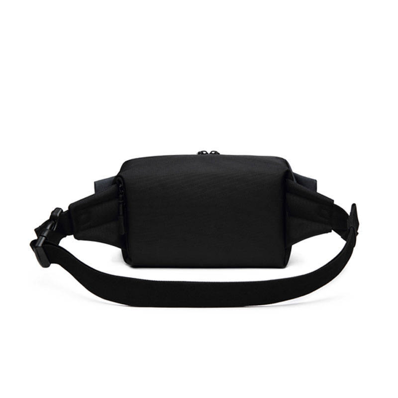Material Waterproof Oxford ClothWaist Packs Men Organizer Travel Waist Bag Running Mobile Phone Bags Fashion Chest Pack Bolso in Waist Packs from Luggage Bags