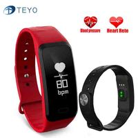 Teyo Smart Bracelet Watches Blood Pressure Heart Rate Monitor Clever Fitness Bracelet Activity Tracker GPS Pedometer