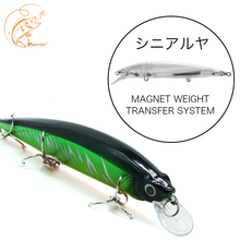 Купить с кэшбэком 2019 New Fishing Lure Minnow Wobblers Artificial Bait TP089 19G 14CM 5 Different Colors Professional Carp Fish Bass Lure