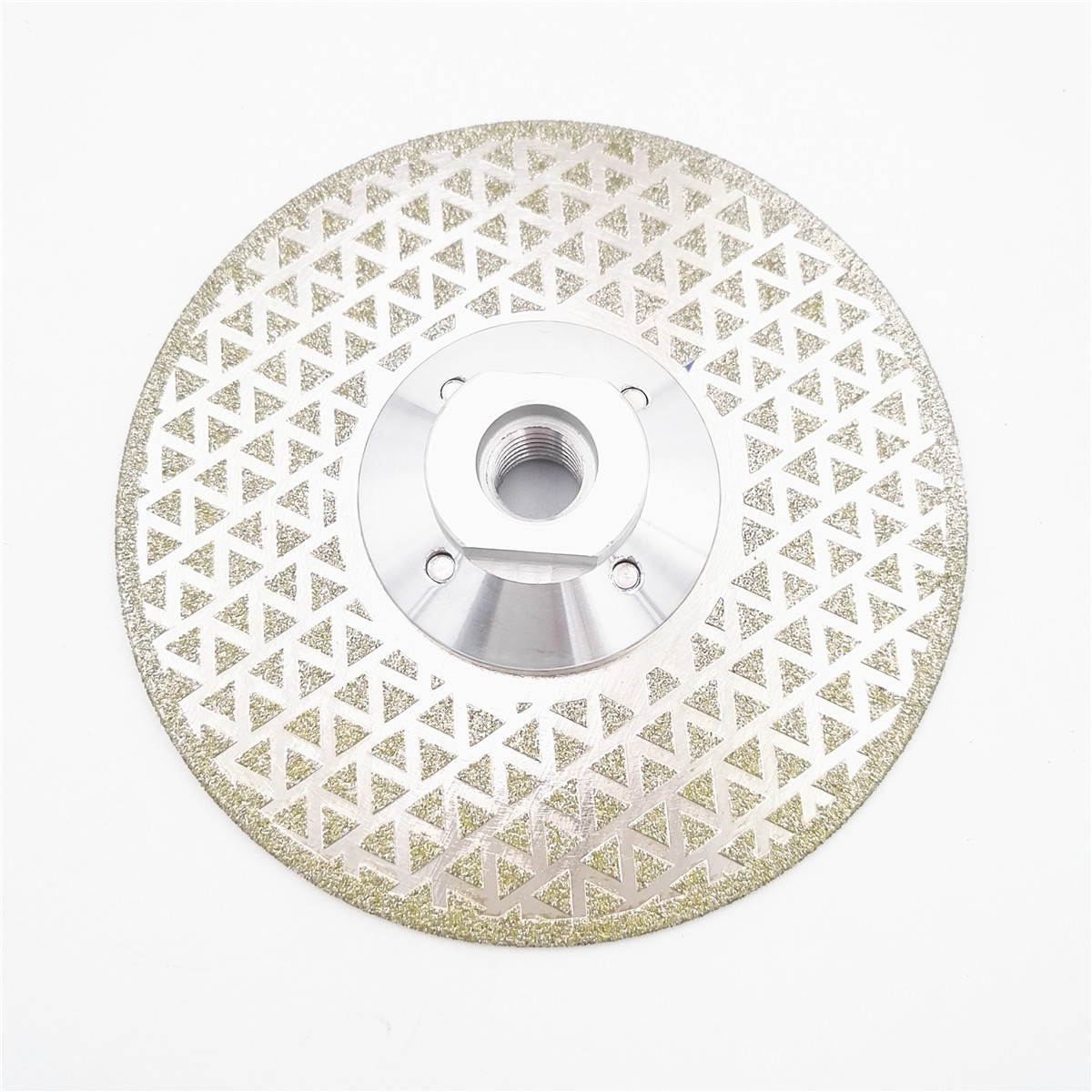 цена на DIATOOL 125mm Electroplated Diamond Cutting And Grinding Disc For Granite & Marble With Double Grinding Sides