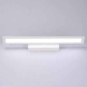 Image 3 - Luz LED de pared de 11W para espejo de baño, lámpara de pared de acrílico moderna resistente al agua, AC85 265V de iluminación para Baño