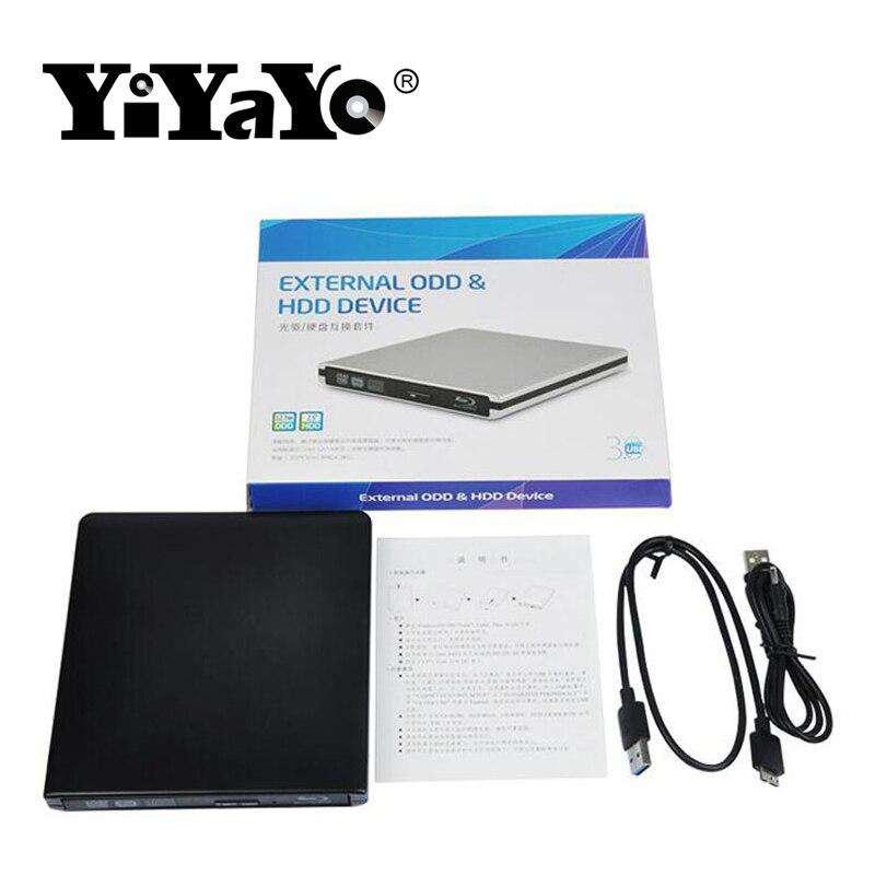 YiYaYo Bluray Burner USB 3.0 Reproductor de DVD-ROM Unidad óptica - Componentes informáticos - foto 6
