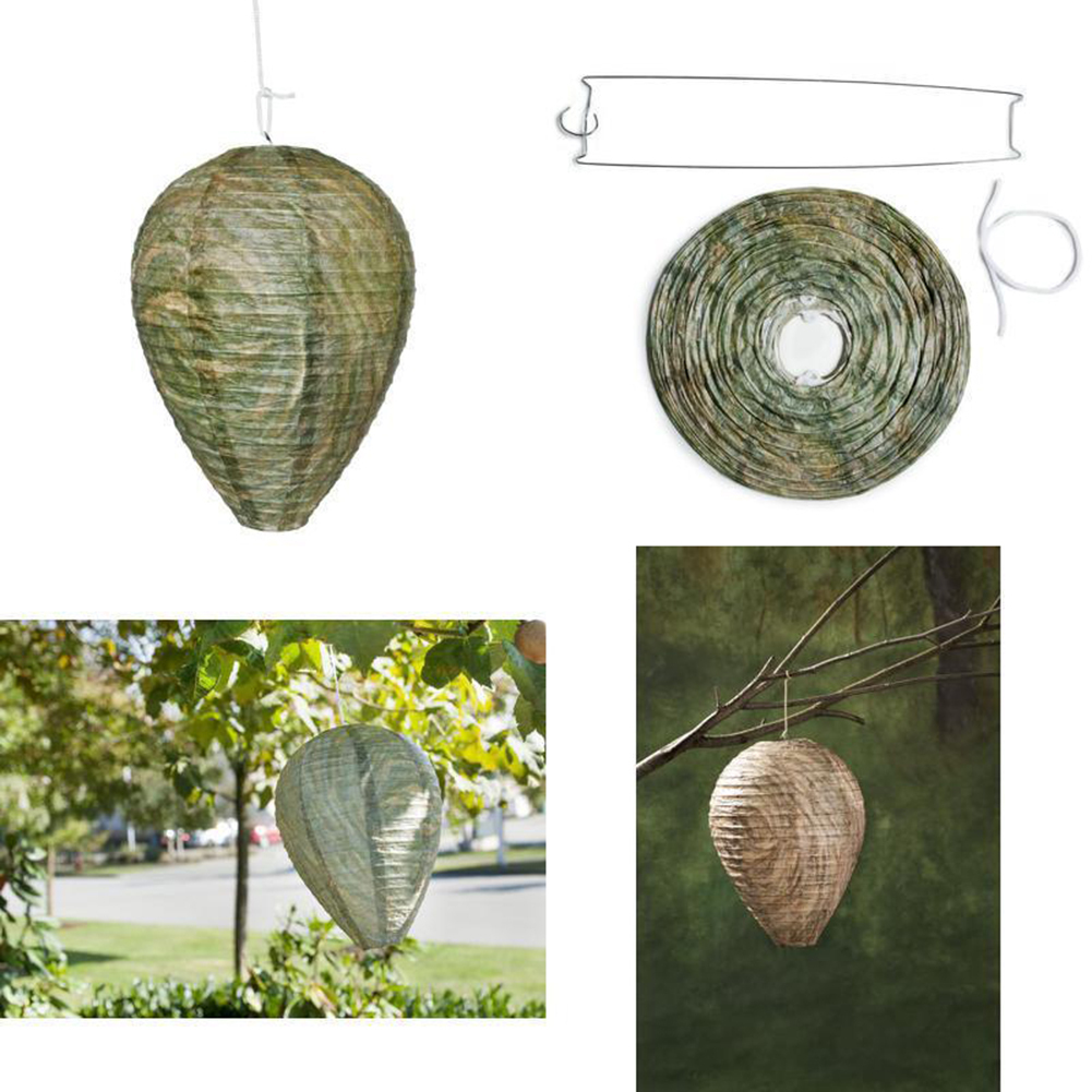 HTB1eeg7BRyWBuNkSmFPq6xguVXaN - Flying Hanging Wasp Bee Trap Fly Insect Simulated Wasp Nest