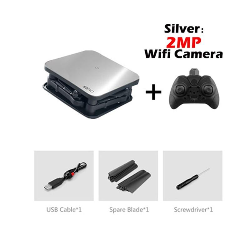 Mini Pocket WIFI FPV Quadcopter Foldable Drone Camera 2.0MP HD Remote Control 5