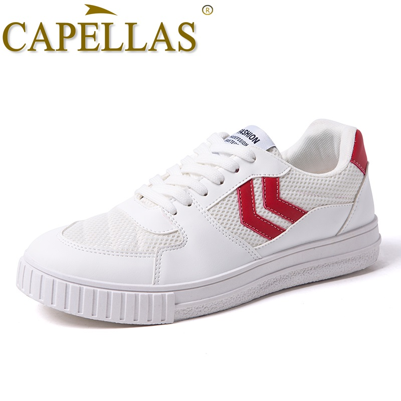 CAPELLAS New Fashion Men Canvas Shoes Herrskor Casual Brand Andas - Herrskor - Foto 1