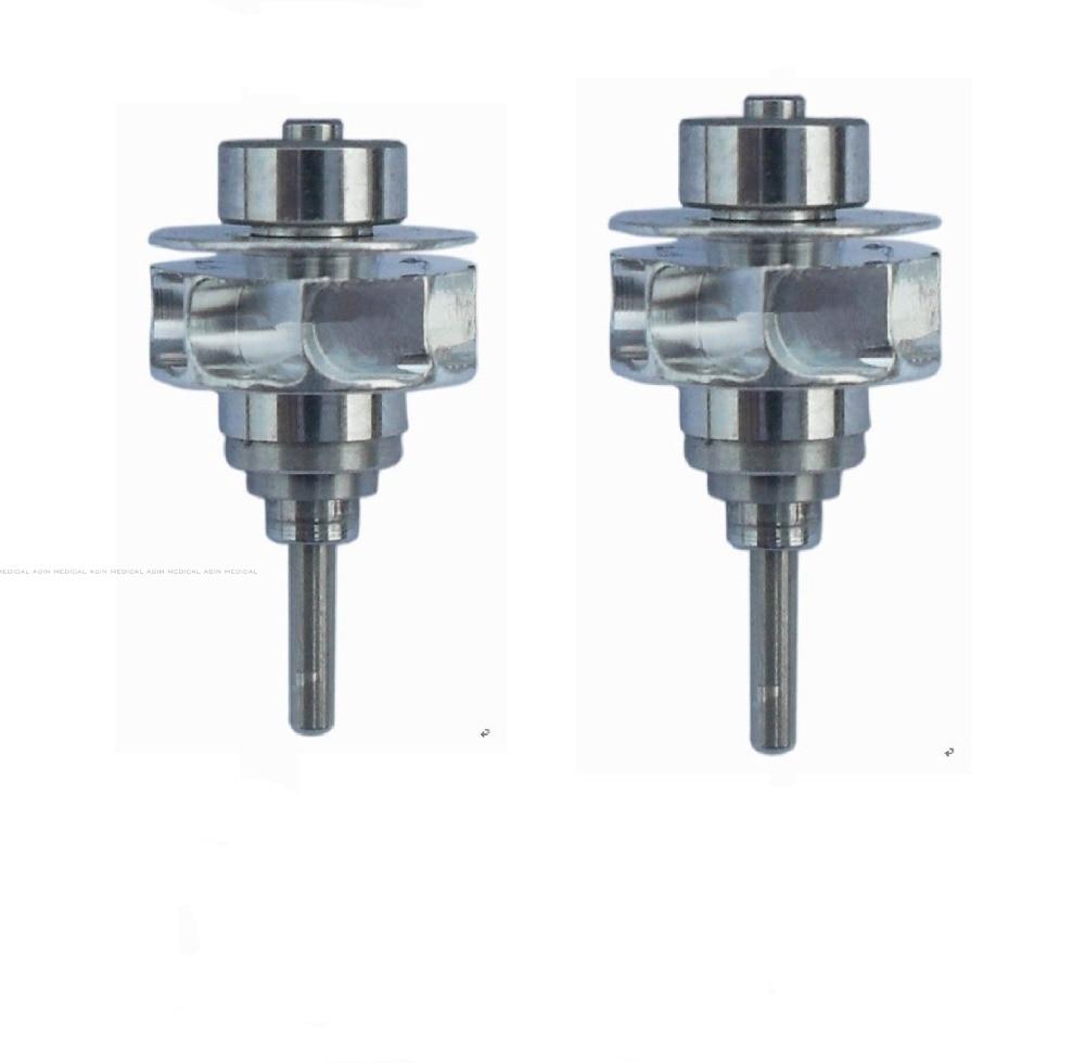 2pc dental Turbine rotor  for High Speed Handpiece Compatible with KAVO 6500B PB 2016 10pcscoxo turbine cartridge cxk01 high speed compatible with kavo4500 original