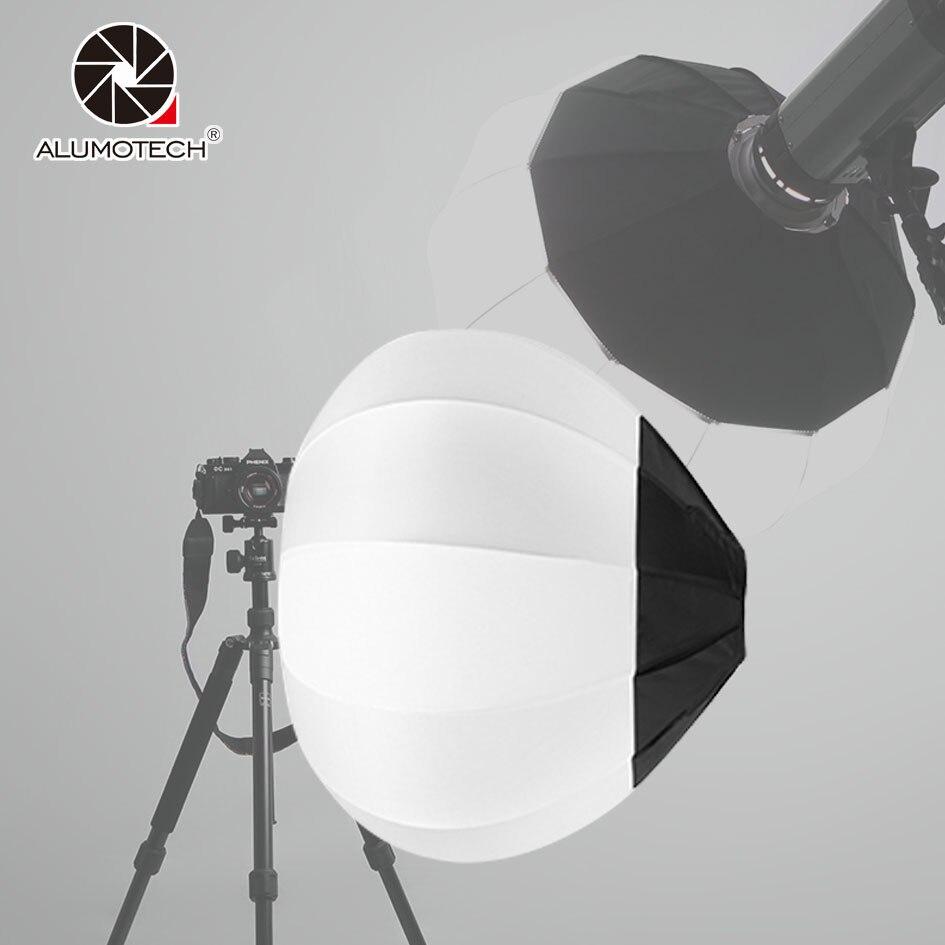45/65/80 cm Balle Globe Softbox Bowens Mont Pliable Lanterne Diffuseur Pour Caméra Vidéo Studio Flash Stroboscopique photographie